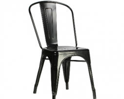 Black Tolix Industrial Chair