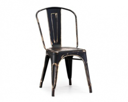 Black Gold Vintage Tolix Chair