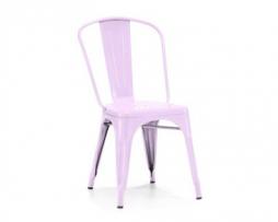 Lilac Vintage Tolex Chair