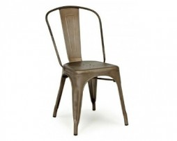 Rusty Antique Tolix Chair Matte