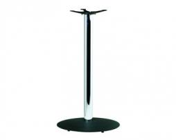 Bar Height Craigs Custom Black and Chrome Table Base 41