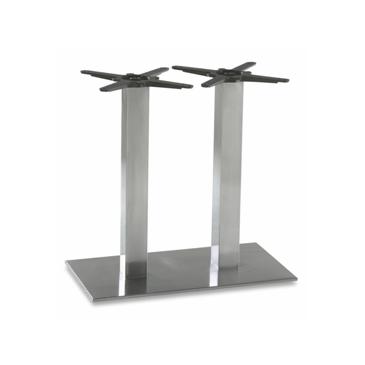 Steel Double Column Indoor Outdoor Table Base