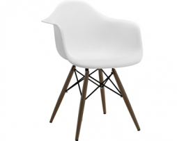 Eames Eiffel Angel White Arm Chair
