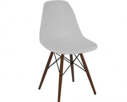Eames Eiffel Angel White Side Chair