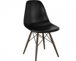 Eames Eiffel Black Side Chair