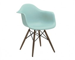 Eames Eiffel Surfing Turquoise Arm Chair
