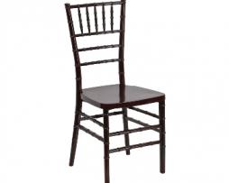 Mahogany Resin Chiavari Chair