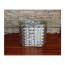Oval Zinc Weave Table Base For Glass Table Tops