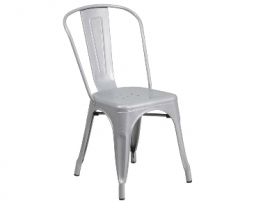Sonic Silver Tolix Chair