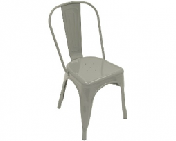 Battleship Grey Tolix Chair
