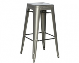 Gun Metal Counter Height Stool