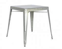 Clear Galvanized Steel Table In-Outdoor Tolix Table