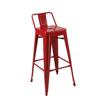 Admirable Red Baron Low Back Tolix Bar Stool Gmtry Best Dining Table And Chair Ideas Images Gmtryco