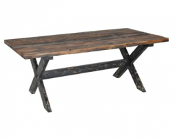 Rustic Reclaimed Solid Wood Table