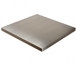 Wrapped Stainless Steel MDF Table Tops