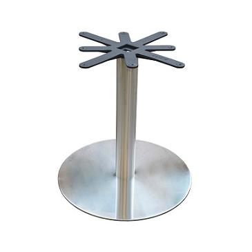 Brushed Steel Disk Base 1