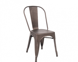 Antique Custom Taupe FinishTolix Chair 3