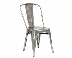 Polished High Gloss Metal Finish Tolix Chair