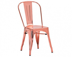 Rose Gold Custom Finish Tolix Chair